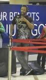 Le joueur de baseball Jason Heyward est vu chez LAX Photo stock