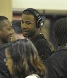Le joueur de baseball Jason Heyward est vu chez LAX Photo libre de droits