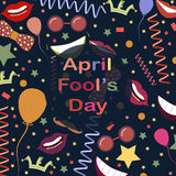 Le jour d'imbécile d'avril Image libre de droits