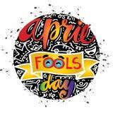 Le jour d'imbéciles d'avril Photos libres de droits