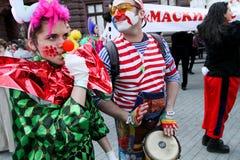 Le jour d'imbéciles d'avril en Ukraine. Photographie stock libre de droits