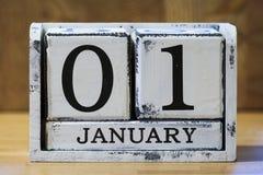 Le jour d'an neuf Photo libre de droits