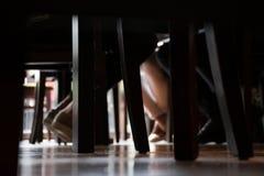 Le jour dans une barre Photographie stock libre de droits