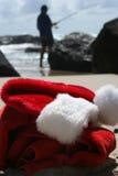 Le jour de congé de Santa images libres de droits