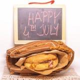 Le Jour de la Déclaration d'Indépendance Photographie stock libre de droits