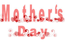 Le jour de mère Photo stock