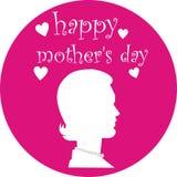 Le jour de mère heureux Photos stock