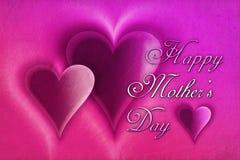 Le jour de mère heureux Images libres de droits