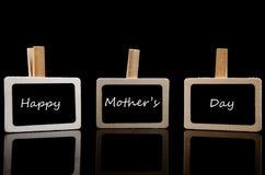 Le jour de mère heureux Photo stock