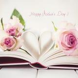 Le jour de mère heureux ! Photo stock