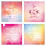 Le jour de mère heureux Image stock