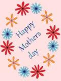 Le jour de mère heureux Photo libre de droits