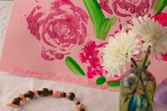 Le jour de mère heureux (vue 2) Photo libre de droits