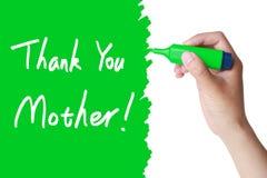 Le jour de mères vous remercient Images libres de droits