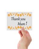 Le jour de mères vous remercient photos libres de droits