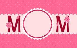 Le jour de mère heureux Photographie stock