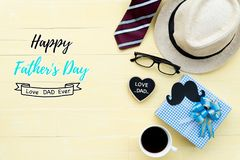 Le jour de père heureux Photos libres de droits
