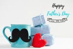 Le jour de père heureux Photos stock