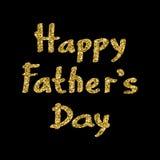 Le jour de père heureux Images stock