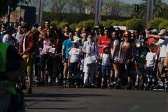 Le jour de patinage 06 Image libre de droits
