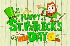 Le jour de Patrick de saint Image stock