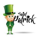 Le jour de Patrick de saint illustration libre de droits