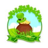 Le jour de St Patrick illustration stock