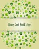 Le jour de St Patrick heureux photos libres de droits