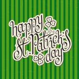 Le jour de St Patrick heureux Photo libre de droits