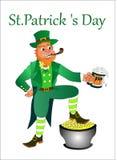 Le jour de St Patrick de vacances est les meilleures vacances en Irlande illustration libre de droits