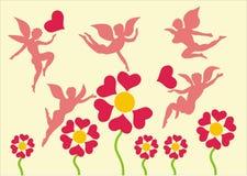 Le jour de Valentine Images libres de droits