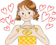Le jour de Valentine Photographie stock libre de droits