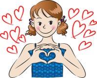 Le jour de Valentine Image libre de droits