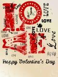 Le jour de Valentine illustration libre de droits