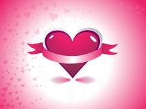 Le jour de valentine abstrait illustration libre de droits