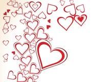 Le jour de valentine abstrait illustration de vecteur