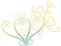 Le jour de valentine abstrait illustration stock
