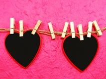 Le jour de valentine de fond d'amour et de coeur Image stock