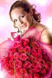 Le jour de Valentine. Proposition de mariage Photo libre de droits