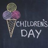 Le jour des enfants Photos stock