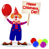 Le jour des enfants nationaux. Image stock