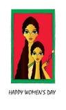 le jour des femmes Images libres de droits