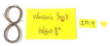 Le jour des femmes Image libre de droits