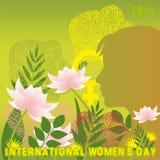 Le jour des femmes internationales Photos stock