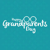 Le jour des grands-parents Photo stock