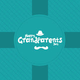 Le jour des grands-parents Image stock