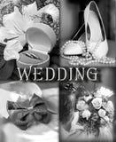 Le jour du mariage Images libres de droits