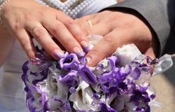 Le jour du mariage Images stock