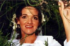 Le jour du mariage d'Amanda photographie stock libre de droits