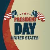 Le jour du président Photos stock